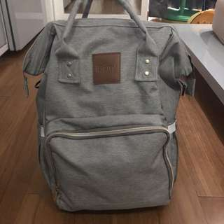 Iberry Diaper Bag (Grey)
