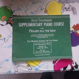 Supplementary piano course