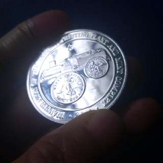 Inaguration of the Security Printing Plant and Mint Complex,Commemorative Coin,Silver
