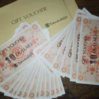 Taka vouchers 1500 in value