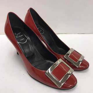 Roger Vivier Patent Leather High Heel