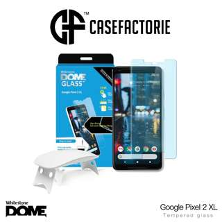 Whitestone Dome Full Glue Tempered Glass Google Pixel 2 XL
