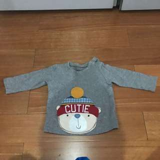 Mothercare Long Sleeve T-Shirt