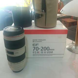 Canon 70-200mm f2.8L IS-II