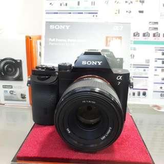 Kamera SONY Alpha 7 Cash Back 1,8 Juta (Kredit DP 0%)