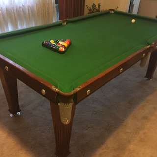 Slate Pool Table
