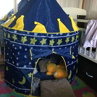 Tenda Bermain Anak Castle Kids Portable Tent