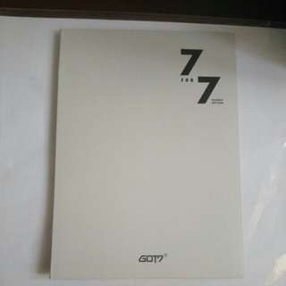 [Official] GOT7 - 7for7 Preorder Benefit