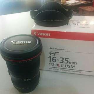 Canon 16-35 f2.8L-II