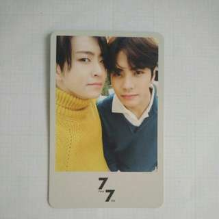 [Official] GOT7-7for7 Present Edition Jackjae Photocard