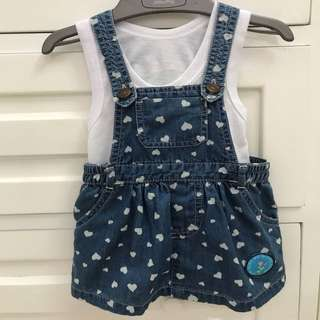 Curly girl 0-6m
