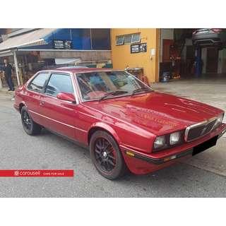 Maserati Biturbo (COE till 04/2019)