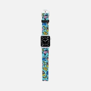 Casetify Minion Apple Watch 38mm Band (Blue)