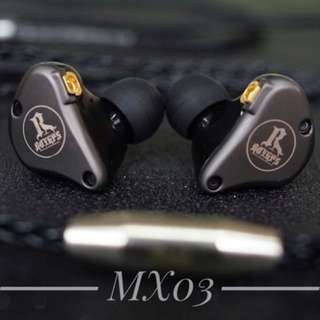 ROYHPS MX03 多層石墨烯鍍鈦單元耳機