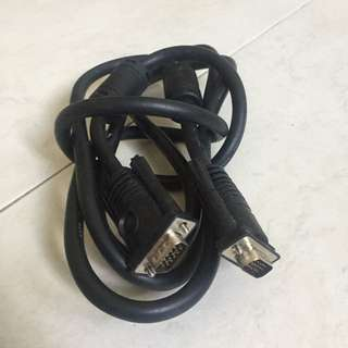 Cable for Computer/Projector/TV