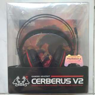 Brand New ASUS Cerberus V2 Gaming Headset (Red)