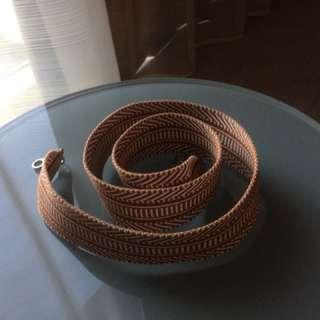 Hermes canvas strap
