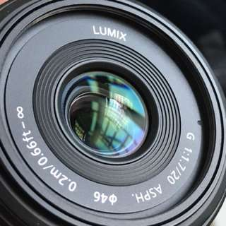 Panasonic LUMIX G 20mm f/1.7 (H-H020)