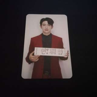 GOT7 Jinyoung Arrival Promise Ver Photocard