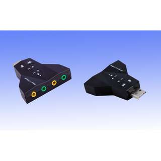 USB Virtual 7.1 USB 2.0 Sound Card