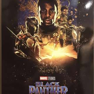 black panther imax 3d limited edition poster