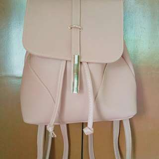 Nude fashion back pack