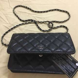 💯Aunthentic Chanel Wallet Chain