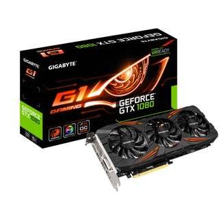 Gigabyte GeForce GTX 1080 8GB G1 Gaming