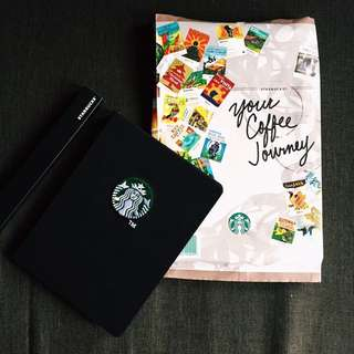 2015 Starbucks Planner New!!!