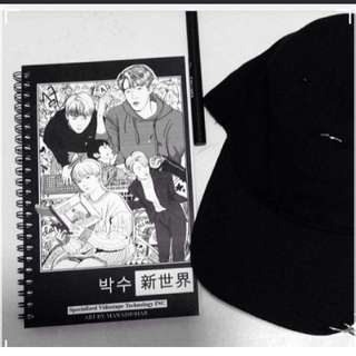 FREE POSTAGE! Unofficial Seventeen Notebook