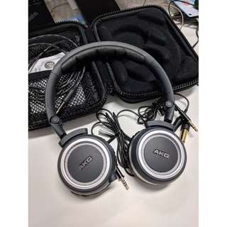AKG K450 headphones