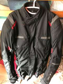 Komine Riding Jacket (KO JK BLACK-S)