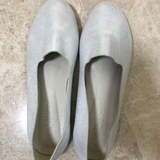 Pazzion silver loafer