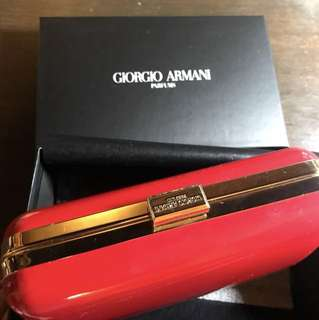 Giorgio Armani Parfums clutch bag