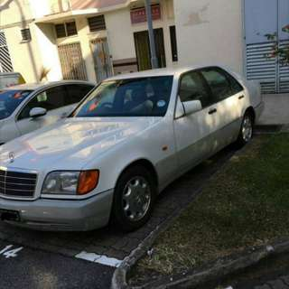 Mercedes S320 W140 1996 SUPER GOOD  WELL MAINTAIN