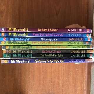Mr Midnight Storybooks