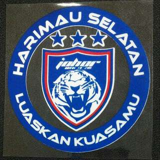 Johor Tigers Windscreen Sticker