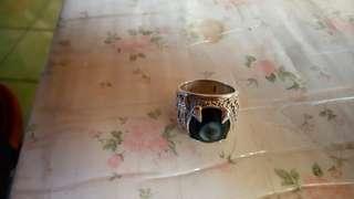 🚚 超霸氣純銀天眼珠戒指