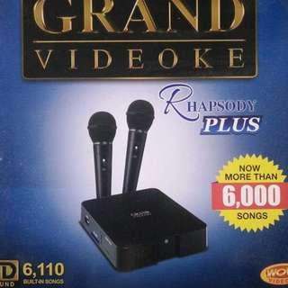 GRAND VIDEOKE RHAPSODY PLUS
