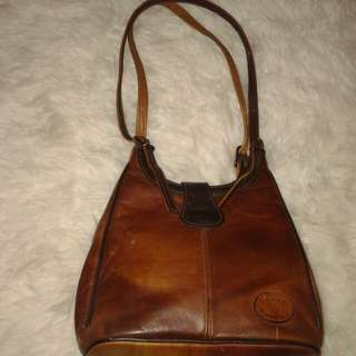 Preloved! Leather bags genuine