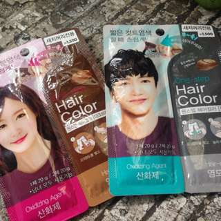 One Step Hair Color