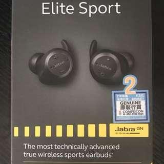 全新未折盒Jabra Elite Sport 2 升級版wireless earphones