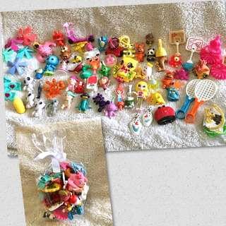 77-pc Random Small/Micro Toys Lot