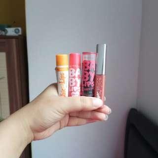 BISA BARTER❤ Paket Take All Murah Meriah Tinted Lipbalm!