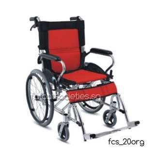 11kg Premium Self Propelled Wheelchair (Aluminium)