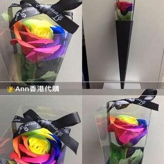 情人節❤️香皂花🌹黃心彩虹顏色🌈