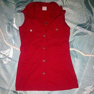 Bb Club Red Girls Dress