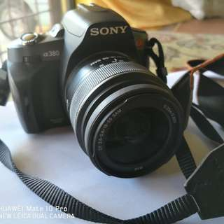 2nd Sony DSLR Alpha 380