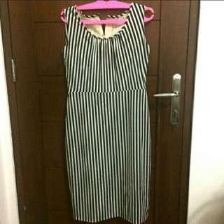 Dress stripes bodycon