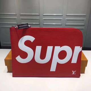 [代購]Louis Vuitton x Supreme POCHETTE JOUR 手提包